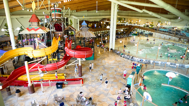 Water Rides at H2Oasis Indoor Water Park