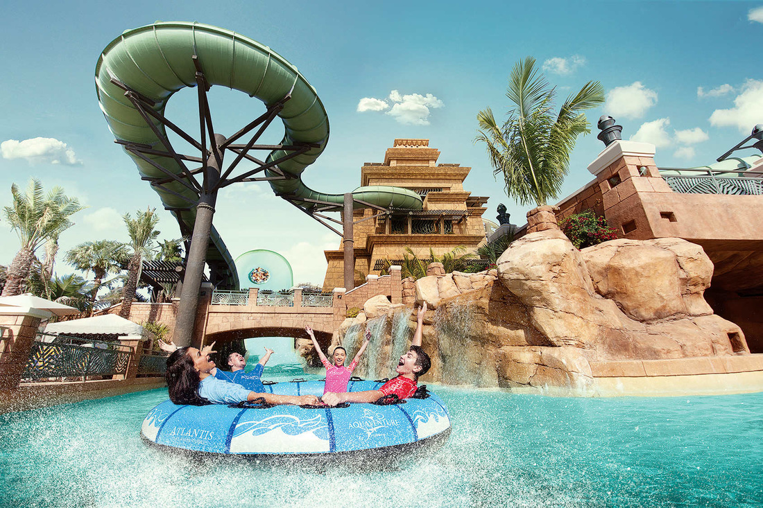 Water Slides at Aquaventure Waterpark